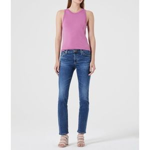 AG The Harper Essential Straight Jeans In EMP Denim Size 30R